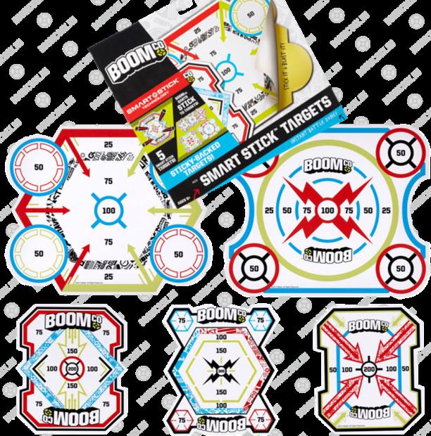 купить набор мишеней BOOMco - незаменимая деталь поединков на бластерах Бумко