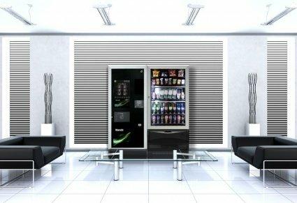 """Торговый автомат в зоне ожидания клиентов, """"Чао-Какао"""" - Краснодарская вендинговая компания"""