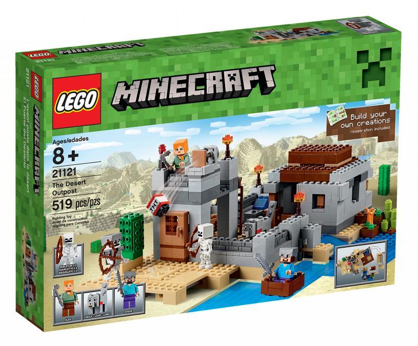 lego maincraft 21121 Пустынная Станция