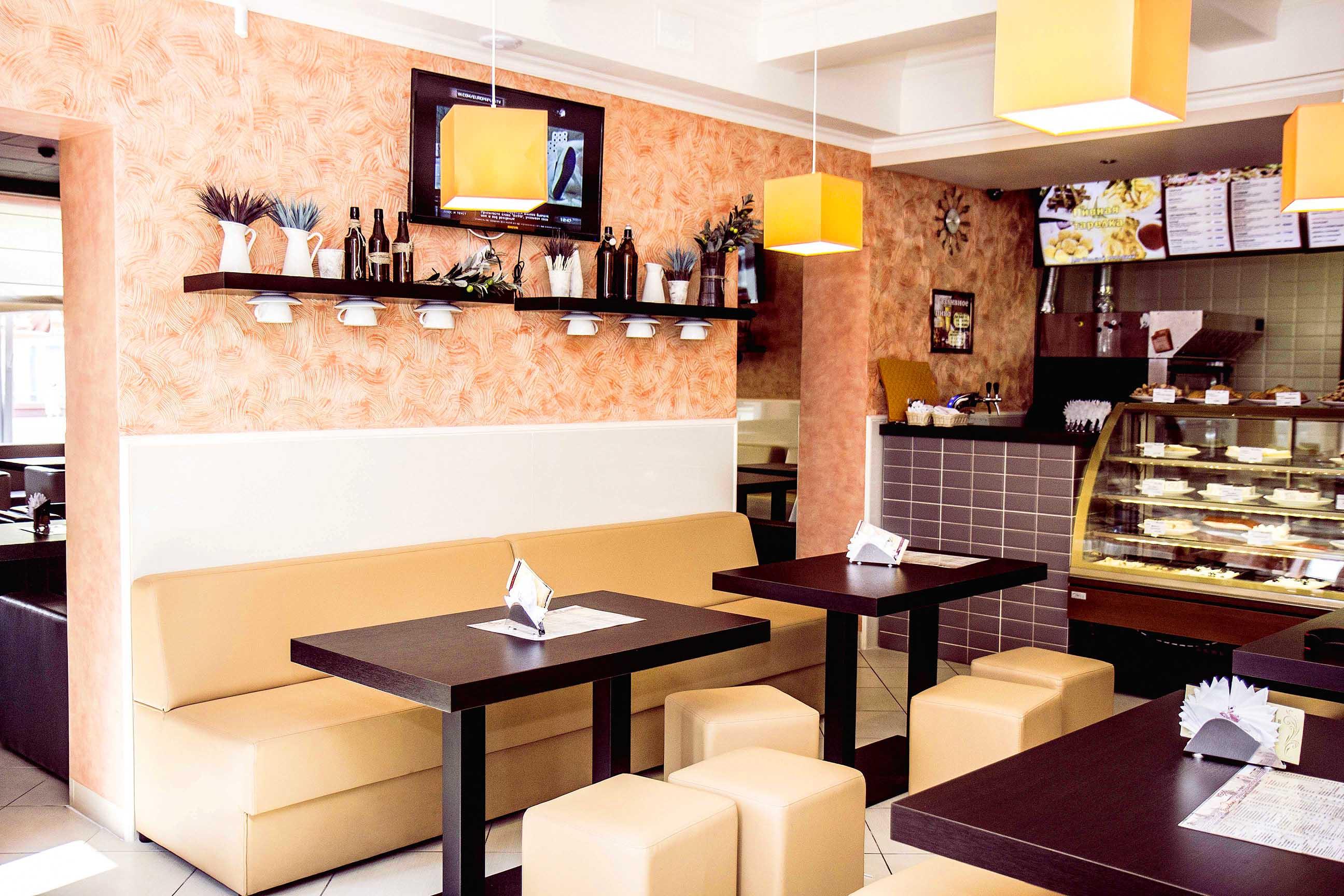 В Московской области наиболее распространенный формат общепита - кафе