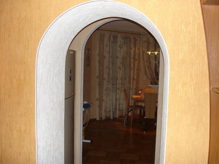 Чем оформить арку в квартире фото