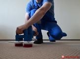 Ручная чистка коврового покрытия