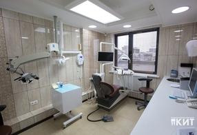 Кабинет терапевта и микроскописта в стоматологическом центре Мытищи
