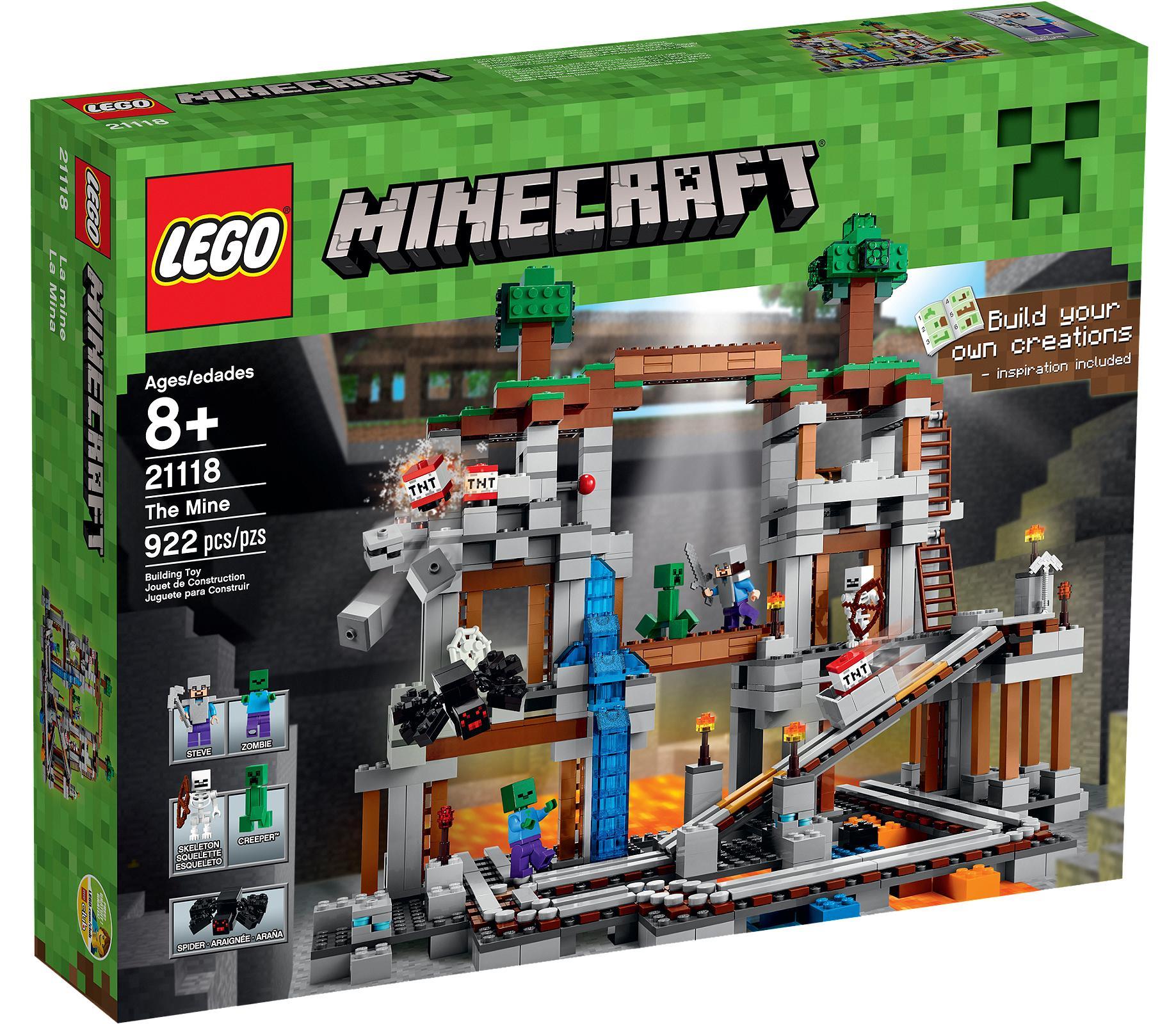lego maincraft 21118 Шахта