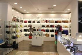 дизайн магазина сумок