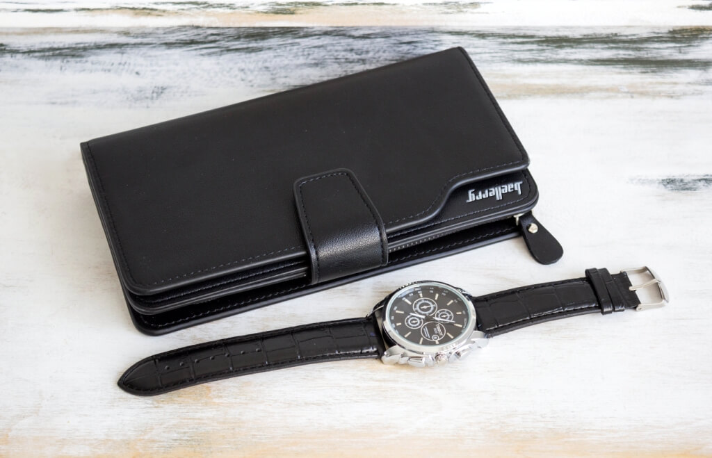 Часы Tissot и портмоне