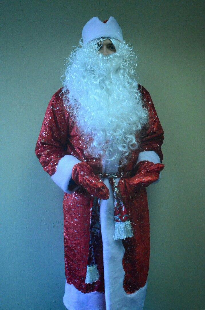 купить костюм деда мороза и снегурочки дешево