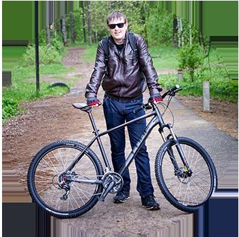 велосипед куб
