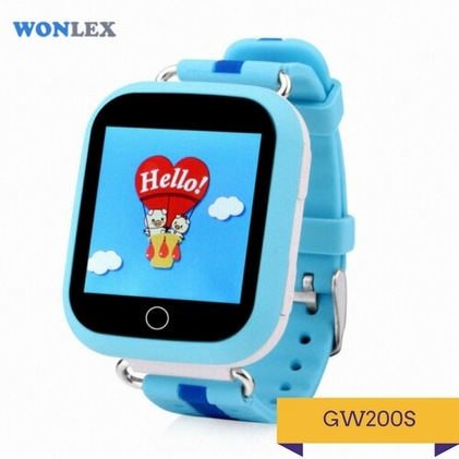 Детские умные часы Q200S синего цвета