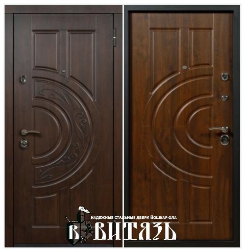 Стальные двери Йошкар Ола Астар зеркало беленый дуб