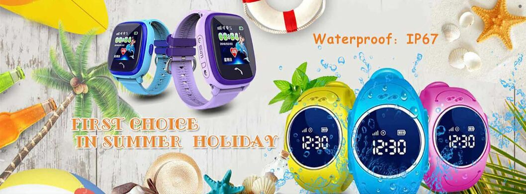 Smart Baby Watch GW400S (Df25) c GPS, водонепроницаемые IP67