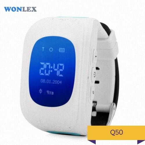 Детские умные часы Q50 белого цвета