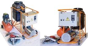 Оборудование для промывки систем отопления, насос для промывки котлов и теплообменников