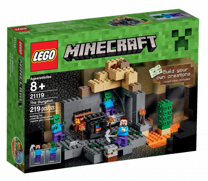 lego maincraft 21119 Подземелье