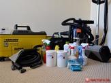Оборудование и химические средства для химчистки ковров