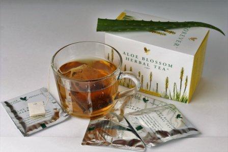 Чай с цветами Алоэ Вера
