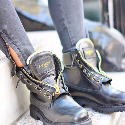 Купить Balmain Балмейн ботинки женские