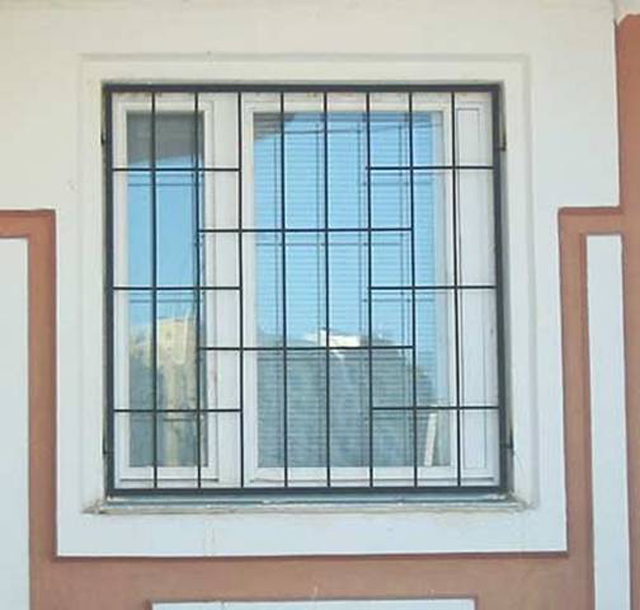 Как сделать решётки на окнах