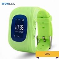 Smart Baby Watch Q50 (Oled) зеленые