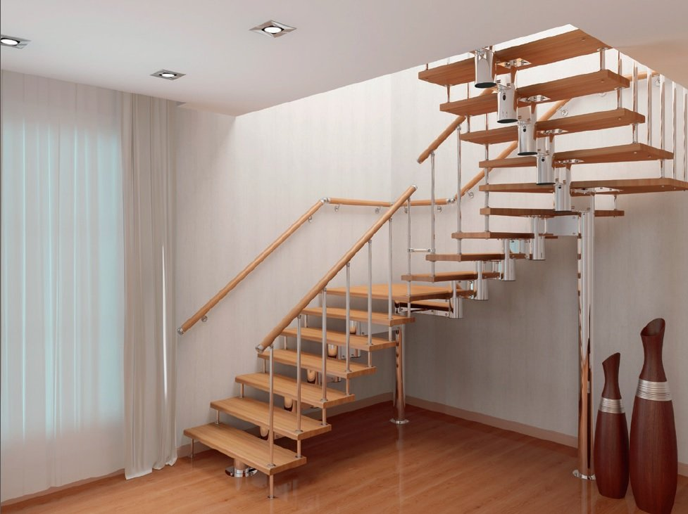 Модульная лестница в Иркутске