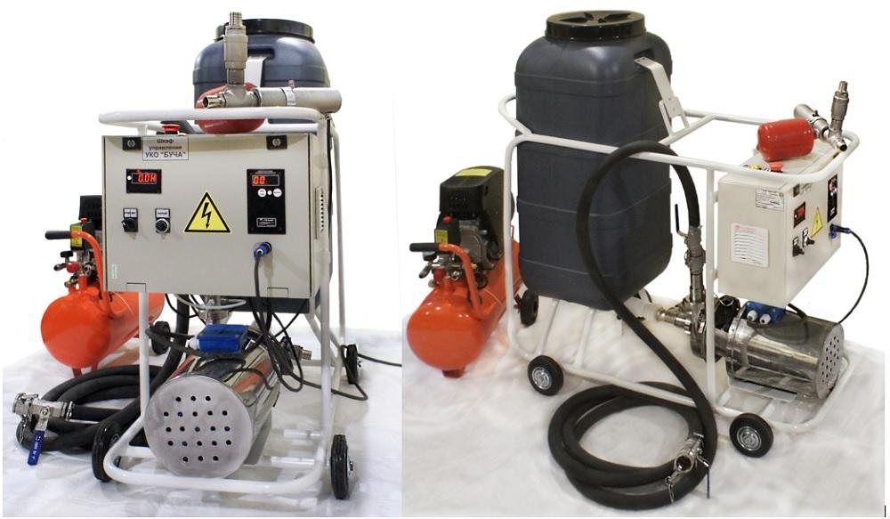 оборудование для промывки УКО БУЧА
