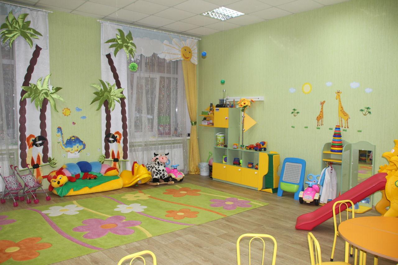 Оформление игровой в детском саду фото