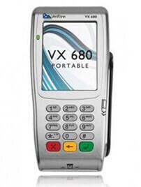 мобильный POS терминал Verifone Vx680 GPRS CTLS