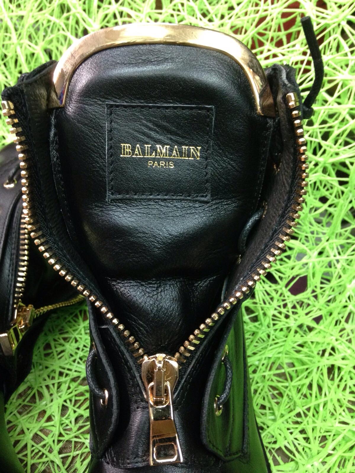 Ботинки Бальман Balmain реплика копия