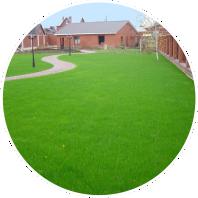 Пример устройство газона