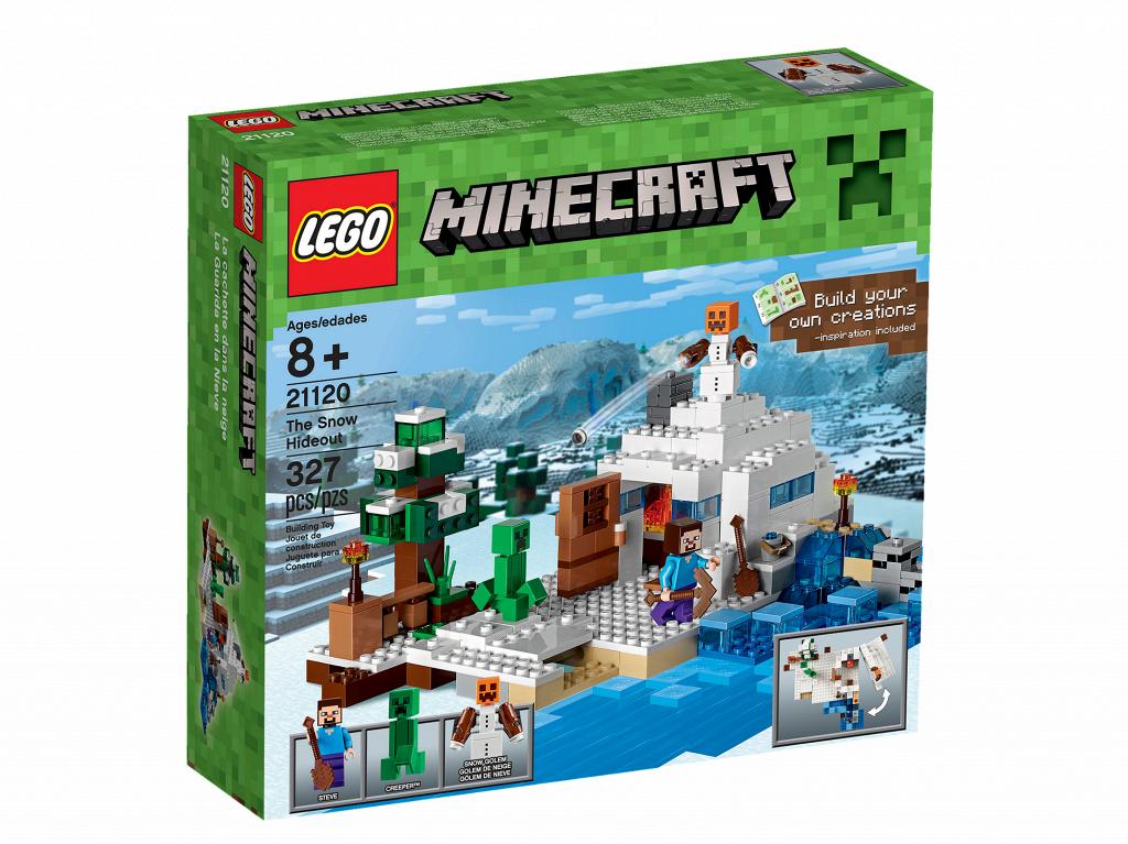 lego maincraft 21120 Снежное Убежище
