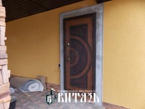 Установка входных металлических дверей Йошкар Ола, стальные двери с зеркалом