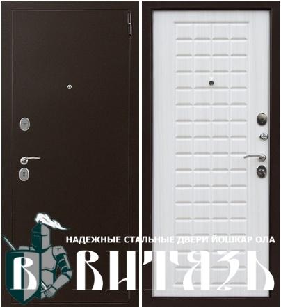 Стальные двери Йошкар Ола Витязь фото в интерьере, Витязь сотка 10 см