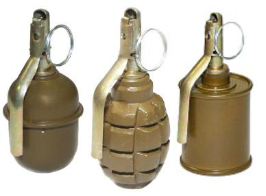 макеты гранат