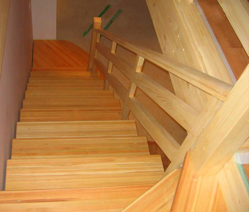 Лестница с перилами своими руками фото 323