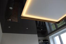 Потолок с прямыми уграми