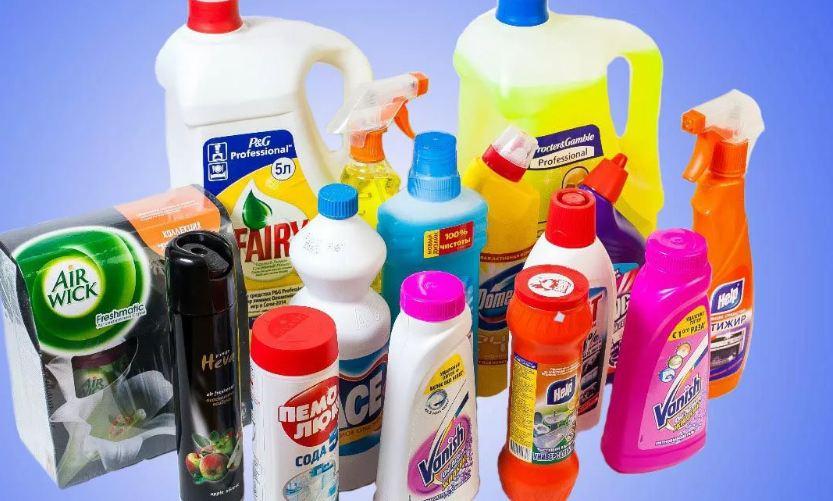 На тему моющие и чистящие средства фото