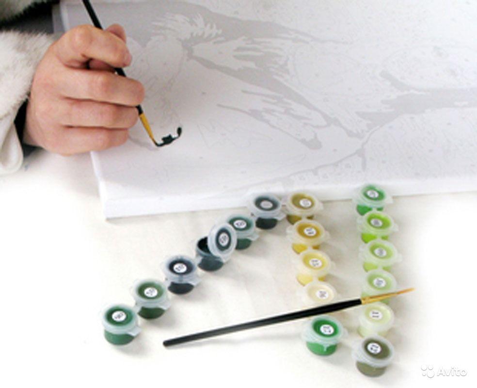 Рисовать картины на холсте своими руками