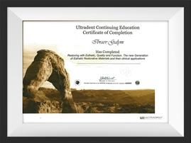 Сертификат стоматолога работающего в Dent-Life