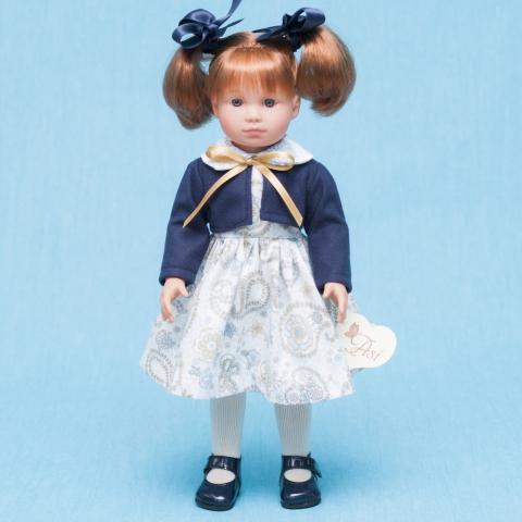 Кукла Нелли рыжая