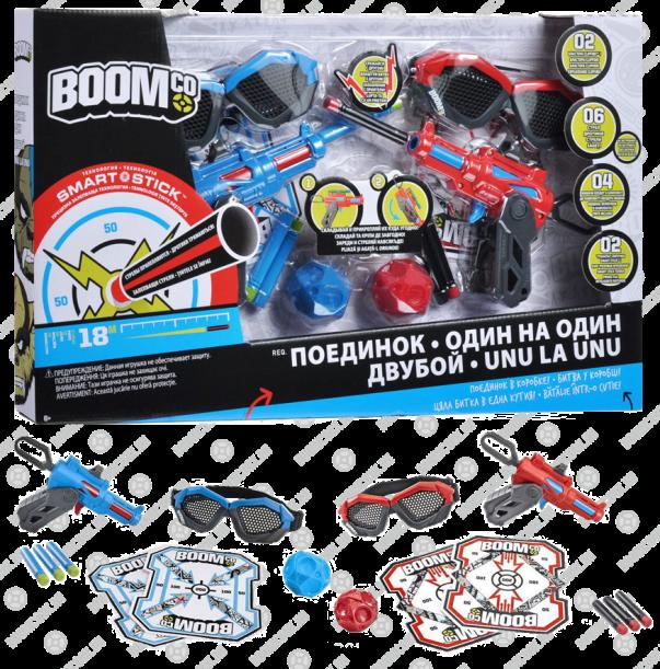 игровой набор Поединок BOOMco - специально создан для захватывающих битв