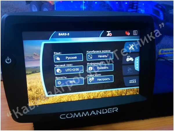 агронавигатор командер COMMANDER курсоуказатель, навигатор для трактора