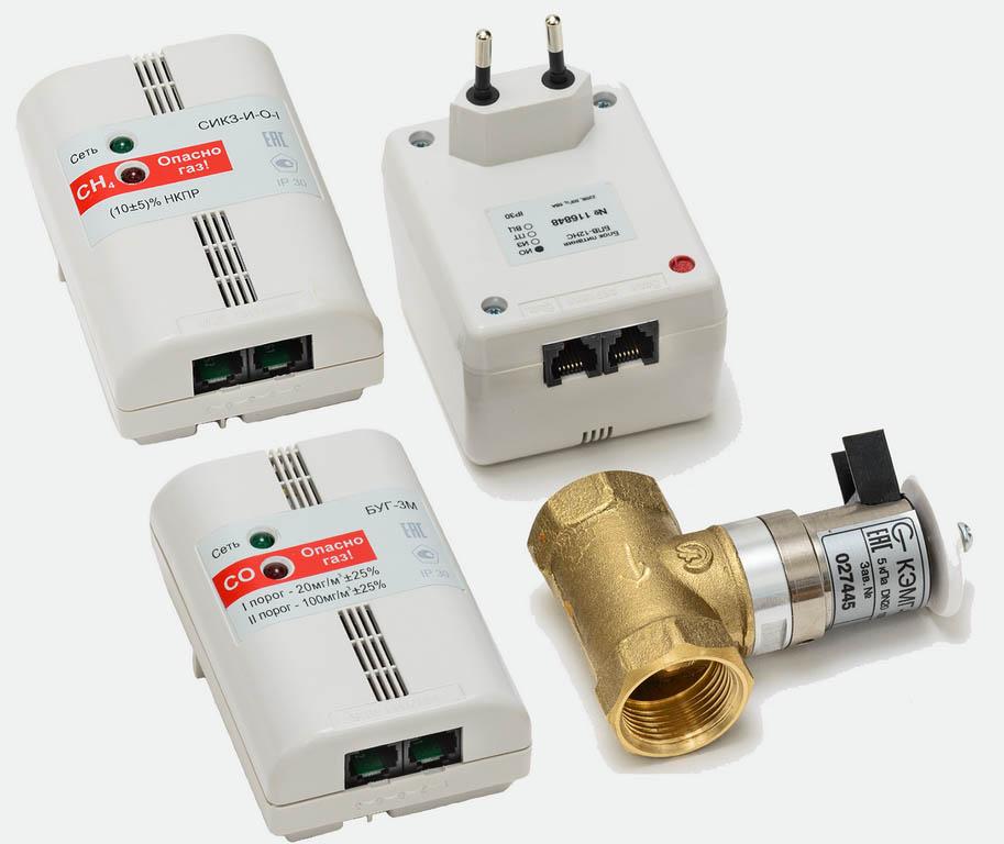 сигнализатор загазованности на природный газ сикз купить