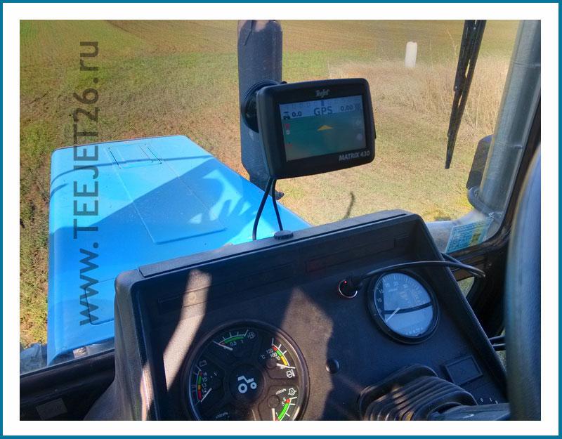 навигатор для трактора тиджет 430 матрикс teejet