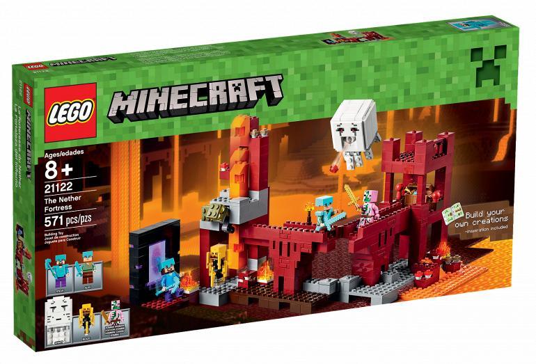 lego maincraft 21122 Подземная Крепость