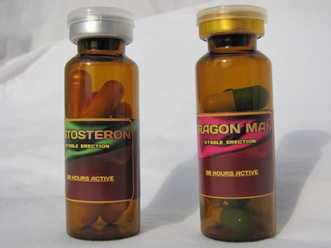 Dragon Man+Tестостерон