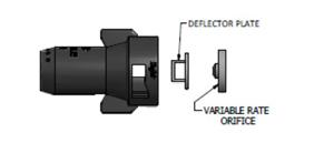 SJ7-VR, распылител тиджет, форсунка SJ7, дефлекторный распылитель