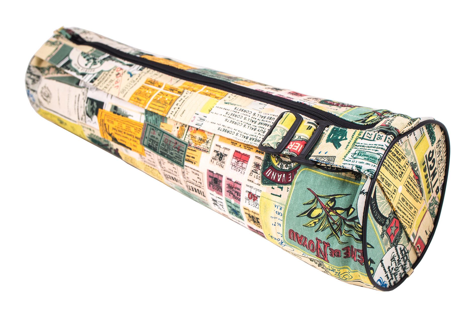 красивая сумка для коврика для йоги