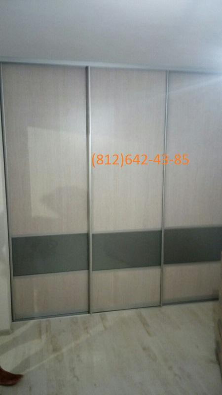 Двери-купе Комбинированные со стеклом