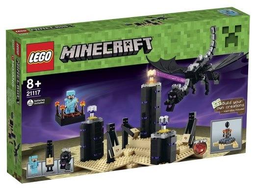 lego maincraft 21117 Дракон Края