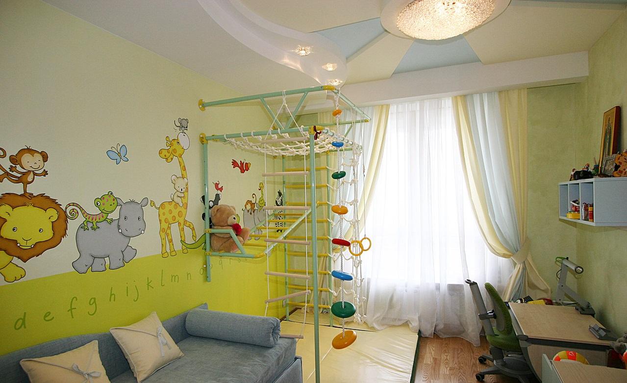 Дизайн детской своими руками оформление фото
